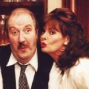 Gorden Kaye and Vicki Michelle  -  Wallpaper - 454 x 648