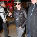 Josh Hutcherson landed in Paris, February 10