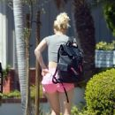 Heidi Montag in Pink Shorts – Out in Los Angeles - 454 x 658