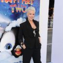 "Singer/actress Alecia Beth Moore aka Pink attends the Premiere of Warner Bros. Pictures' ""Happy Feet Two"" at Grauman's Chinese Theatre on November 13, 2011 in Hollywood, California"
