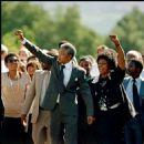 Winnie Mandela and Nelson Mandela