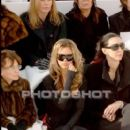 Victoria Beckham and L'Wren Scott attend the Chanel fashion show during Paris Fashion Week (Haute Couture) Spring/Summer 2006 on January 24, 2006 in Paris, France - 407 x 640