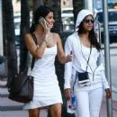 Michelle Rodriguez and her friend – Out in Miami - 454 x 681