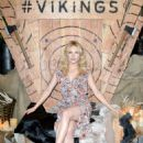 Katheryn Winnick – Vikings Battle Axe Training at San Diego Comic Con 2019