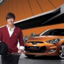 Pictures of Lee Min Ho for Hyundai Veloster - 454 x 339
