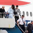 Priyanka Chopra and Nick Jonas – Arriving in the Caribbean - 454 x 443