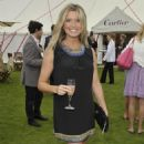 Tina Hobley - Cartier International Polo Day At Guards Polo Club On July 26, 2009 In Egham, England