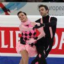 Spanish female ice dancers