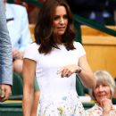 Prince William and Duchess Catherine at Wimbledon 2017