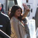 Priyanka Chopra – On location with the cast of Quantico in New York City - 454 x 677
