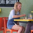 Heather Graham – Having lunch with a friend in Los Feliz - 454 x 681