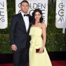 Channing Tatum at the 72nd Annual Golden Globe Awards at the Beverley Hilton Hotel in Beverly Hills