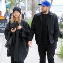 Mena Suvari is spotted walking with a friend during a lunch trip to M Cafe in Beverly Hills, California on February 21, 2017 - 402 x 600