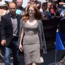 Jessica Chastain Leaves hotel Martinez in Cannes - 454 x 669
