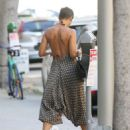 Nicole Murphy in Summer Dress – Out in Beverly Hills - 454 x 580