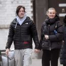 Diane Kruger and Norman Reedus – Out for a stroll in New York City - 454 x 681