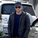 Liam Hemsworth arriving for lunch at the Kreation Kafe in Santa Monica, California on December 30, 2012
