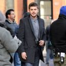 "Zac Efron: strolled up to the set of ""Are We Officially Dating?"" in Brooklyn"
