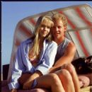 Jennie Garth and Ian Ziering in Beverly Hills, 90210 (TV Series) - 1990