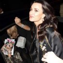 Kyle Richards night out in LA - 454 x 728
