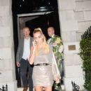 Petra Ecclestone at Annabel's Restaurant in London - 454 x 737