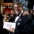 Guillermo Del Toro At The 90th Annual Academy Awards - Backstage (2018)