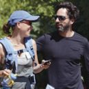 Sergey Brin and Anne Wojcicki - 340 x 272
