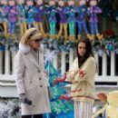 Mila Kunis – Filming 'A Bad Moms Christmas' set in Atlanta - 454 x 705