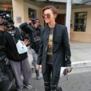 Ms. Ruby Rose Spotted Leaving Steven & CO. Jeweler store out in Beverly Hills CA January 11,2016