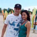 Marco Alcaraz and Precious Lara Quigaman