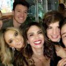 Vera Viel, Rodrigo Faro, Ticiane Pinheiro, Luciana Gimenez, Lucas Jagger and Matheus Mazzafera - 454 x 267
