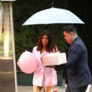 Kourtney Kardashian – Leaving Khloe Kardashian's baby shower in Beverly Hills