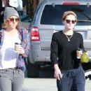 Kristen Stewart Out In Los Feliz