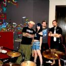 Sumo Cyco at the studio - 454 x 445