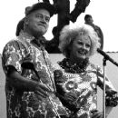 Phyllis Diller and Bob Hope