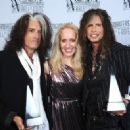Aerosmith attends The Songwriters Hall Of Fame 44th annual Induction at the NY Marriott Marquis on June 13, 2013 - 454 x 327