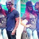 Stevie J and Faith Evans - 454 x 284
