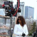 Priyanka Chopra – Filming 'Quantico' set in New York - 454 x 713