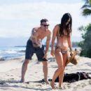 Megan Fox in Bikini on the beach in Kailua-Kona