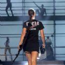 Irina Shayk – Philipp Plein fashion show at New York Fashion Week 2017 - 454 x 681