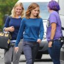Emma Watson On The Set Of The Circle In La