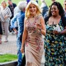 Holly Willoughby Arrives at This Morning Live in Birmingham - 454 x 714