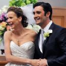 Rachel Griffiths and Gilles Marini