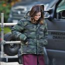 Sophia Bush – On set of her new TV show 'Surveillance' in Vancouver - 454 x 598