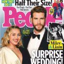 Miley Cyrus and Liam Hemsworth – People US Magazine (January 2019) - 454 x 605