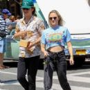 Maika Monroe – Shopping at The Grove in Hollywood - 454 x 681