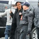 Rihanna spotted on the set of Ocean's Eight In New York, January 24, 2017