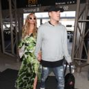 Paris Hilton and Chris Zylka are seen at LAX.NON EXCLUSIVE June 08, 2018 - 448 x 600