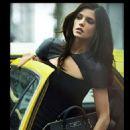 Ashley Greene's DKNY Fall 2012 shoot