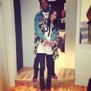 Asap Rocky and Chanel Iman - 454 x 459